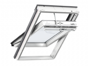 VELUX WHITE Polyurethane Solar Centre-Pivot Roof Window GGU